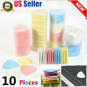 Dressmaker Tailors Chalk Triangle Fabric Marker Chalk 10 Pieces Pink Color $6.98
