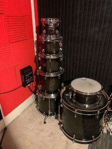 Tama Superstar Classic maple 7 piece Drum Set with Evans 360 EC2 drumheads $900.00
