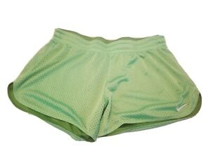 Womens Nike Running Shorts Lime Green Size Small $7.50