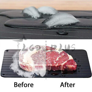 Fast Defrosting Tray Rapid Thawing Board Safe Defrost Plate for Meat Frozen Food