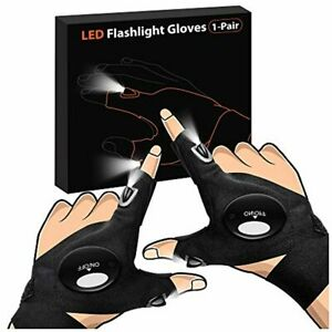 Gifts for Men Father Day LED Flashlight Gloves Dad Men Gifts Light Gloves Gift