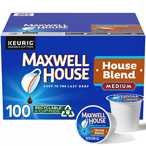 Maxwell House House Blend K Cup Coffee Pods 100 ct. FREE SHIPPING $23.40