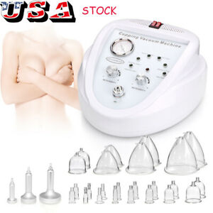 Newest Vacuum Therapy Massage Slimming Skin Care Breast Enlarge Enhance Machine $169.00