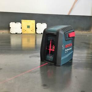 Bosch Self Leveling Cross Line Red Beam High Power Laser Level GLL 30 LEVEL ONLY $39.95