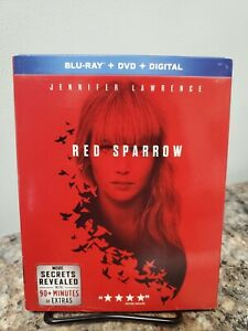RED SPARROW BLU RAY DIGITAL ONLY NO DISCS INCLUDED $6.99