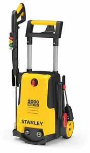 Stanley Electric Pressure Washer 2000 PSI with Gun Hose Nozzles amp; Foam cannon $99.99