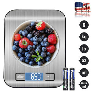 Digital Scale 5000g x 1g Kitchen Food Diet Postal Weight Balance Grams and Ounce