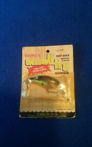 Vintage Bagley small fry lure new in package.