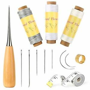 BUTUZE Leather Sewing Kit Leather Hand Sewing Set for Beginner Hand Stitching... $14.22