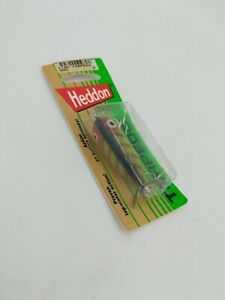 VINTAGE old HEDDON Bait odd fishing LURE on card mid 90s collectible tackle