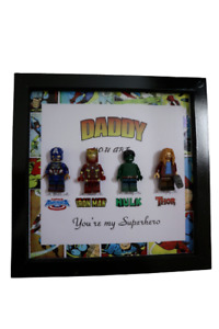Personalized frame Lego fathers day gift M3