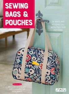 Sewing Bags and Pouches: 35 Bags and Pouches all with Full Size Patterns by Tuva $17.94