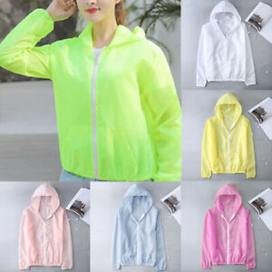 Womens Coat Outwear Anti UV Sun protective Quick Dry Casual Running Jacket $9.39