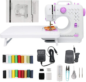 Portable Sewing Machines 12 Stitches 2 Speeds with Foot PedalEasy Sewing Machi $136.97
