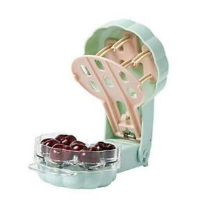 Cherry Pitter 6 Cherries Professional Cherry Stone Remover with Pits and