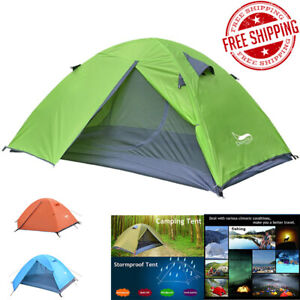 Best Camping Tent Canopy Outdoor Waterproof PopUp Hiking Travel Camp Backpacking