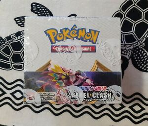 1 x Pokemon Booster Box 36 packs Sword and Shield Rebel Clash New Sealed GBP 169.99