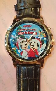 Best Gift Merry Christmas Watch and MASK. WATCH AND MASK SHOW MICKEY AND MINNIE $15.00
