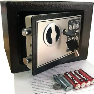 New Digital Home Jewelry Cash Security Safe Box Water Fireproof Electronic Steel $40.99