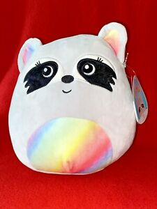 Squishmallows Kellytoy 2021 Animal Collection Max the Raccoon 8quot; Plush Doll NEW