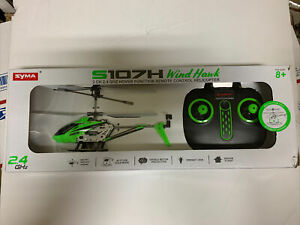 Syma S107H Wind Hawk RC Remote Control Helicopter 3 CH 2.4 GHz Hover Function