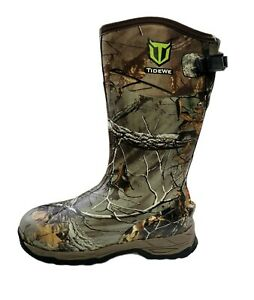 NOB TIDEWE Rubber Hunting Boots with 800g Insulation