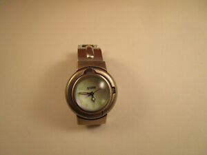 Vintage Storm Revolvo Bubble Green Numbers Wrist Watch Untested