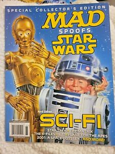 Mad Magazine Spoofs Star Wars amp; Other Sci Fi Special Collector#x27;s Edition NEW