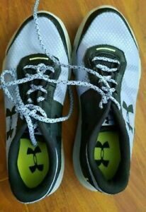 Mens Under Armor shoes size 8.5 slightly used. Worn twice. $30.00