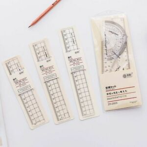 Plastic Ruler Measuring Tools School Office Supplies Stationery Accessories $8.10
