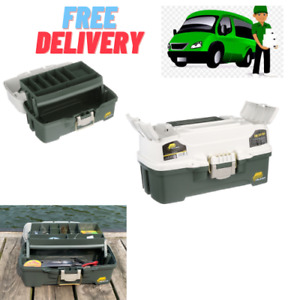 Fishing Tackle Box One Plano Tray Outdoor Gear Hooks Lures Lightweight Sturdy
