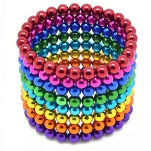 222Pcs Magnetic Beads Balls Sticky Beads Adult Magnets 5mm 6X Colors Sets $17.71