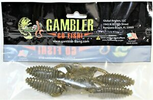 Gambler Go Fish Bait 3quot; Little Otter Fishing Lure Package Of 4 New Sealed