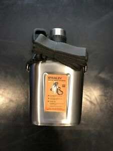Stanley Adventure Steel Canteen 1L Stainless Steel NEW $54.99