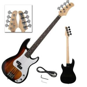 New Professional Golden 4 String Electric Bass Guitar
