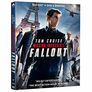 Mission: Impossible Fallout Blu Ray DVD Digital NEW $6.98