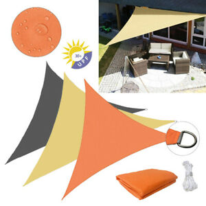 Waterproof Equilateral triangle Sun Shade Sail Canopy Awning Patio Pool Cover $24.99