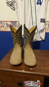 justin mens boots size 14