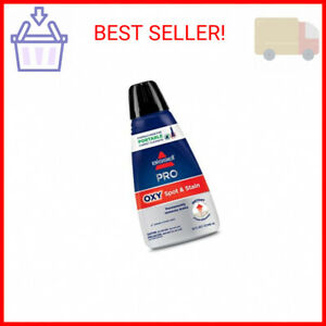 Bissell Professional Spot and Stain Oxy Portable Machine Formula 32 oz 1 … $15.69