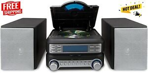 Best Small Home Stereo Digital House Music System AM FM Radio CD Player For Home