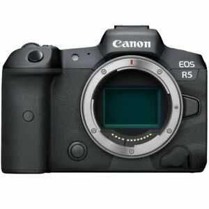 Canon EOS R5 Mirrorless Digital Camera Body Only New Red Description