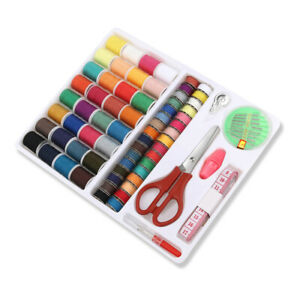 100 in 1 Various Box Bag Sewing Set Thread Stitches Needles Tools Kit Clothes US $11.99