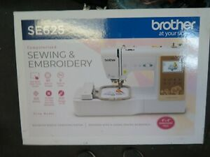 Brother SE625 Computerized Sewing and Embroidery Machine Brand New $450.00
