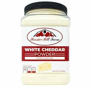 Cheddar Cheese Powder Cheese Lovers White 2 Pound NEW