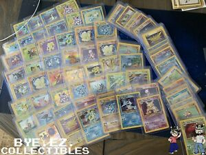 1st Edition Old Pokemon Cards Lot 100% Vintage ONLY WOTC $19.99
