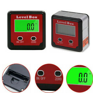 Digital LCD Inclinometer Level Box Protractor Gauge Angle Finder display tool $13.59