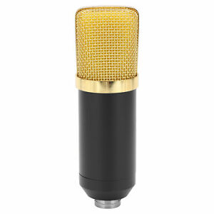 Microphone Broadcast Device For Phone Computer 20Hz‑20KHz Black Flat Head Style $25.28
