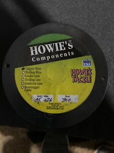 Howies Tackle 300ft 45lb Test Copper Fishing Trolling Wire 300Ft .036 Diameter