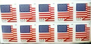 10 USPS..FOREVER..FIRST CLASS..PEEL AND STICK..U.S. STAMPS..UNGRADED..UNHINGED $5.49