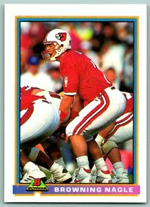 1991 Bowman Browning Nagle Rookie New York Jets #376 $0.99